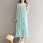 Sleeveless Maxi Dress 1596