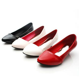 Picture of KAWO Pointy Patent Kitten-Heels 1022787959 (Other Shoes, KAWO Shoes, China Shoes, Womens Shoes, Other Womens Shoes)