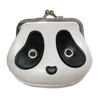 Buy Morn Creations Panda Coin Purse Black & White – S 1005037986