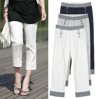 Soegirl Roll-Up Capri Pants 1022894130 | Womens Asian Pants