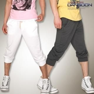 Picture of DANGOON Cropped Sweatpants 1022517810 (DANGOON, Mens Pants, Korea)