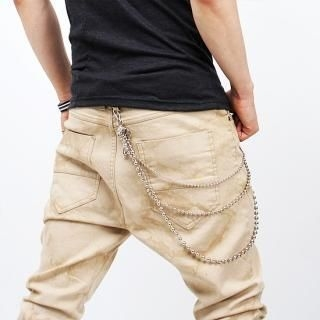 Buy Peeps Distressed Detail Pants 1022821206