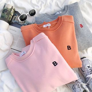 Lettering Sweatshirt