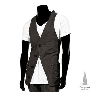 Picture of Purplow Vest 1023049909 (Purplow, Mens Tees, Korea)