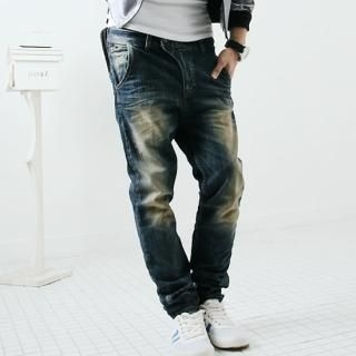 Picture of Groove9 Washed Jeans 1021293477 (Groove9, Mens Pants, Korea)