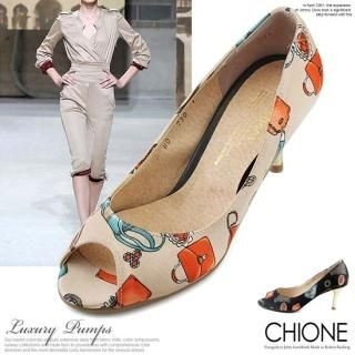 Buy Chione Open-Toe Stilettos 1022573288