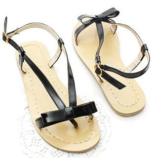 Buy KAWO Bow-Accent Thong Sandals 1022774788