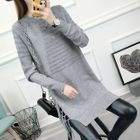 Long-Sleeve Knitted Dress 1596