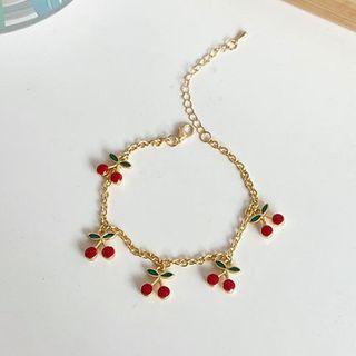 Bracelet | Earring | Cherry | Dangle | Charm | Hoop | Size | One