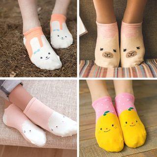 Set of 4: Animals Cotton Socks 1057565348
