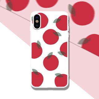 Image of Apple Print Phone Case - iPhone 6 / 6S / 6 Plus / 6S Plus / 7 / 7 Plus / 8 / 8 Plus / X / XS / XS Max / XR