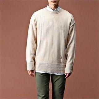 Round-Neck Knit Top 1061717197