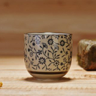Floral Print Cup 1596