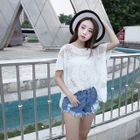 Short-Sleeve Lace Top от YesStyle.com INT
