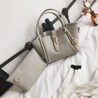 Plain Buckled Handbag 1062908440