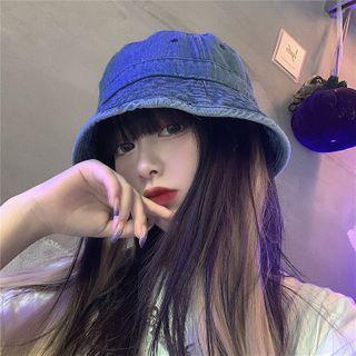 Bucket | Denim | Blue | Hat