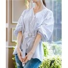 V-Neck Long T-Shirt 1596