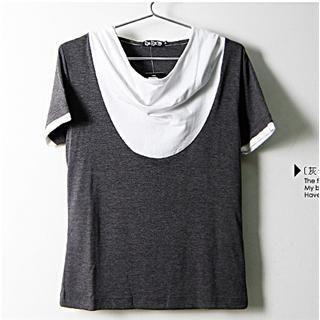 Buy SERUSH Contrast Trim Hoodie 1022401884