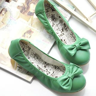 Picture of KAWO Bow Flats 1023005148 (Flat Shoes, KAWO Shoes, China Shoes, Womens Shoes, Womens Flat Shoes)
