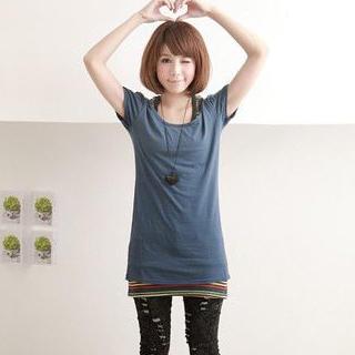 Buy ZOO Short-Sleeve Bow-Back Top 1022532827