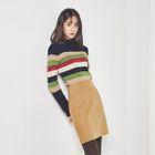 Wool Blend Pencil Skirt 1596