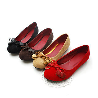 Buy KAWO Bow-Accent Flats 1022788191