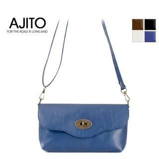 Buy AJITO Twist-Lock Crossbody Bag 1022539228