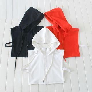 Image of Plain Hooded Decorative Collar