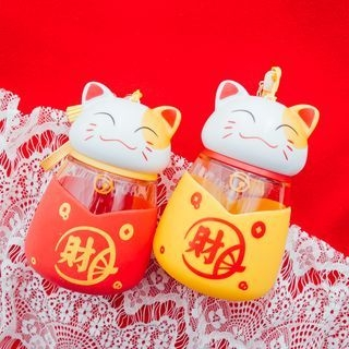 Lunar New Year Cat Cup 1064919678