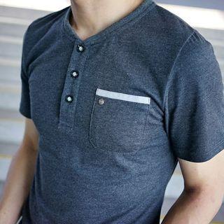 Short Sleeve V-Neck Tee 1052798321