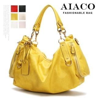 Buy AIACO Faux-Leather Shoulder Bag 1022566590