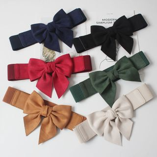 Image of Bow Accent Waist Belt