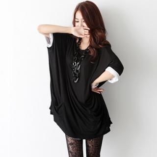 Buy HARU Oversized Short-Sleeve T-Shirt Dress 1022828211