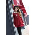 Loose-Fit Long-Sleeve Dress 1596