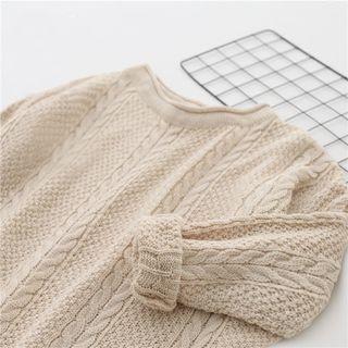 Rib Knit Sweater 1063737468