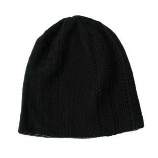 Picture of ESCOBARIA Mixed Pattern Reversible Beanie Black / Charcoal Gray - One Size 1012563460 (ESCOBARIA, Mens Hats & Scarves, Japan)