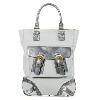 Buy TWIZTT Della Laptop Bag Gray/Silver – One Size 1014537168