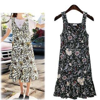 Floral Print Strap Dress 1058371369
