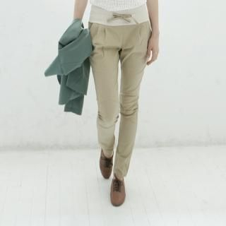Buy LORIKEET Banded Waist Skinny Pants 1022791559