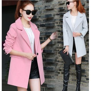 Notch Lapel Coat 1056023971