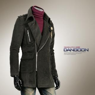 Picture of DANGOON Button-Front Side-Zip Jacket 1021790484 (DANGOON, Mens Outerwear, Korea)
