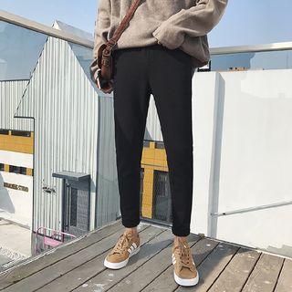 Plain Drawcord Sweatpants