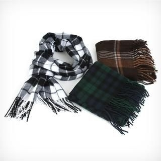 Buy BoynMen Check Scarf 1021883412