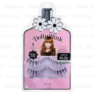 Koji - Dolly Wink Eyelash (#01 Dolly Sweet) 2 pairs 1024079839