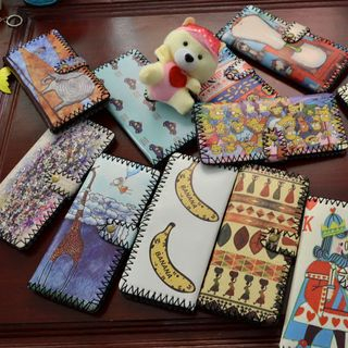 Printed Long Wallet 1049700804