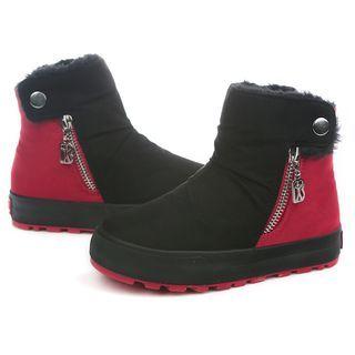 kids-fleece-lined-panel-high-top-sneakers