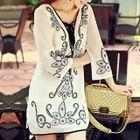 Embellished Chiffon Dress 1596