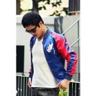 Color-Block Embroidered Baseball Jacket от YesStyle.com INT