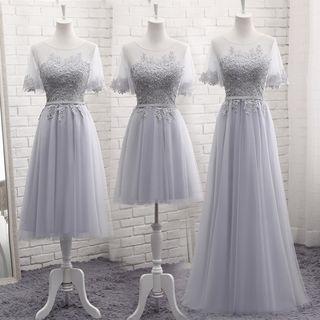 Short-sleeve   Wedding   Dress   Lace