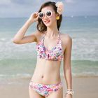 Set: Floral Bikini + Drawstring Shorts 1596
